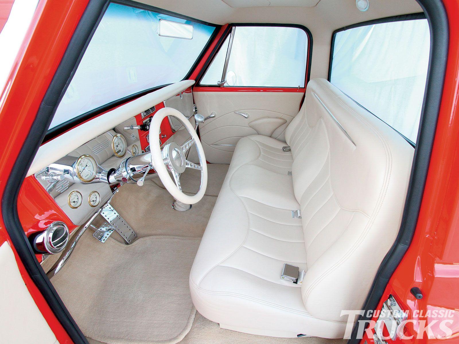 Sweet interior Classic chevy trucks, C10 chevy truck