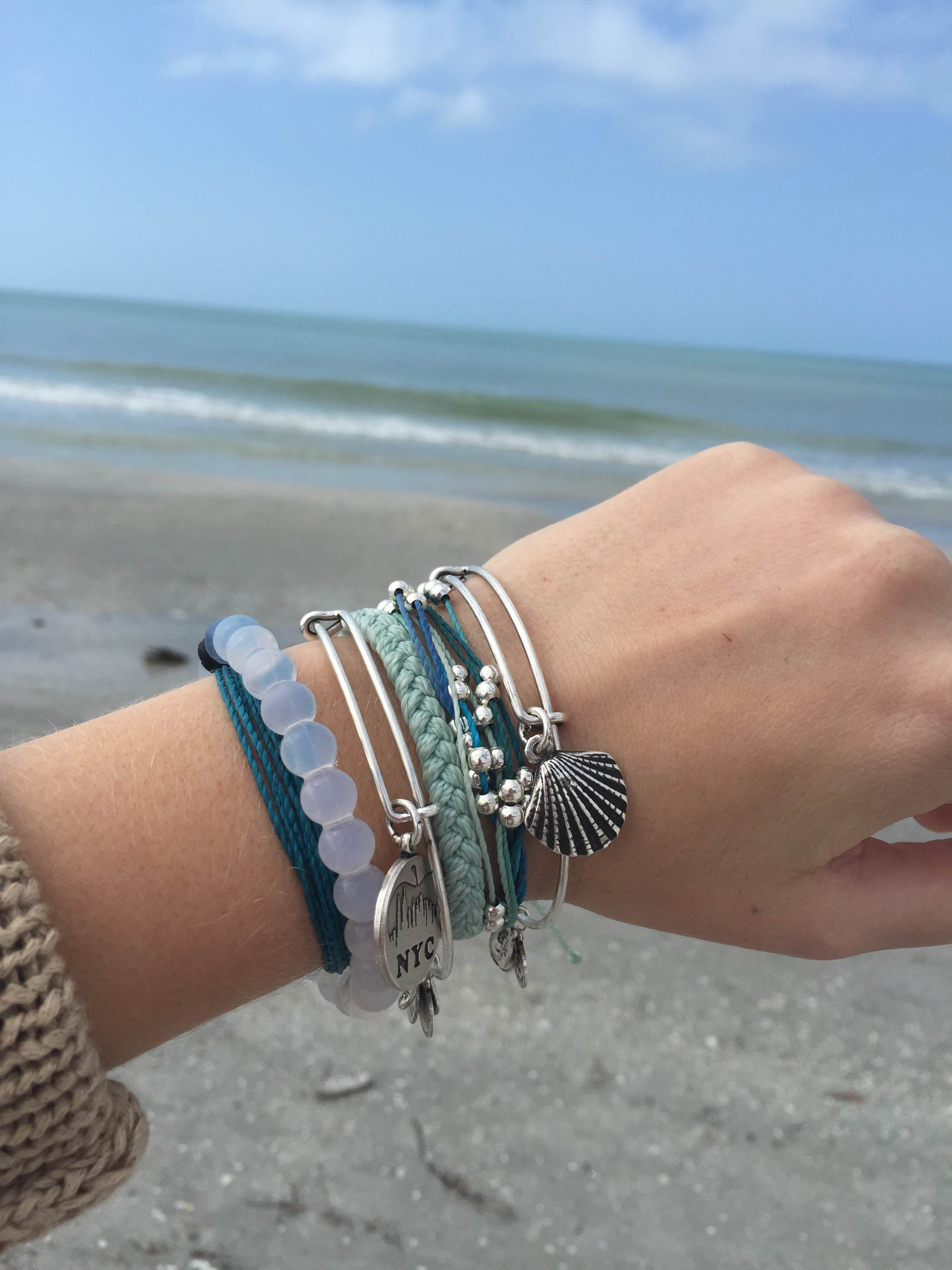 il cuff gxie chan natural beachy luu bracelet stone fullxfull leather beaded blue turquoise p