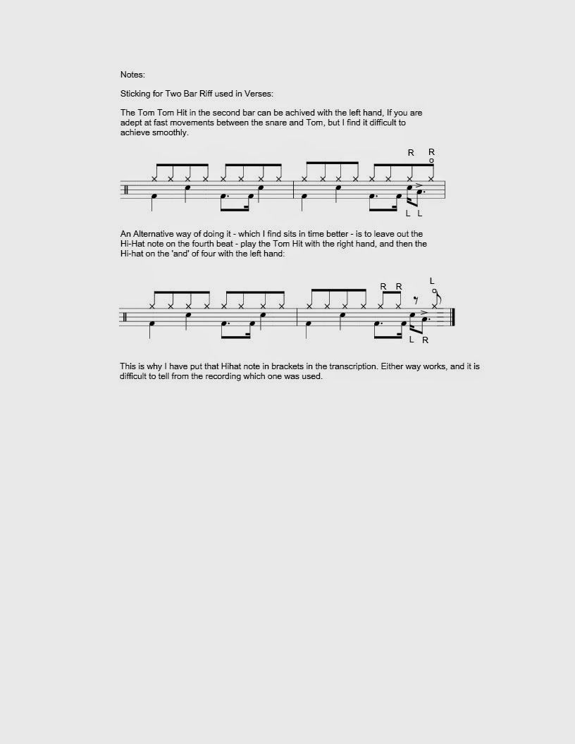U2 Pride In The Name Of Love Drum Lessons Drum Sheet Music Drums Sheet