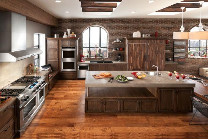 ▷ 1001 + Ideen für Wandgestaltung Küche zum Entlehnen - wand laminat küche