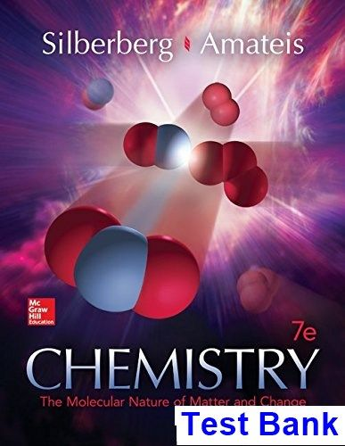 chemistry the molecular nature of matter and change 7th edition rh pinterest com Silberberg Chemistry Citation Silberberg Chemistry Test Bank