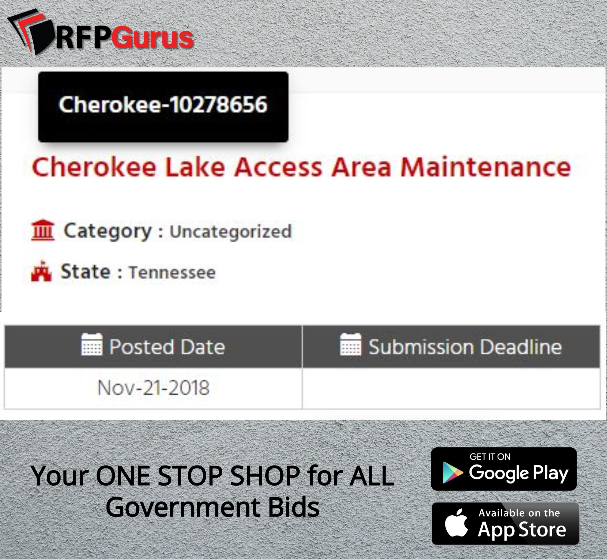 Your ONE STOP SHOP for ALL Government Bids | RFPGurus
