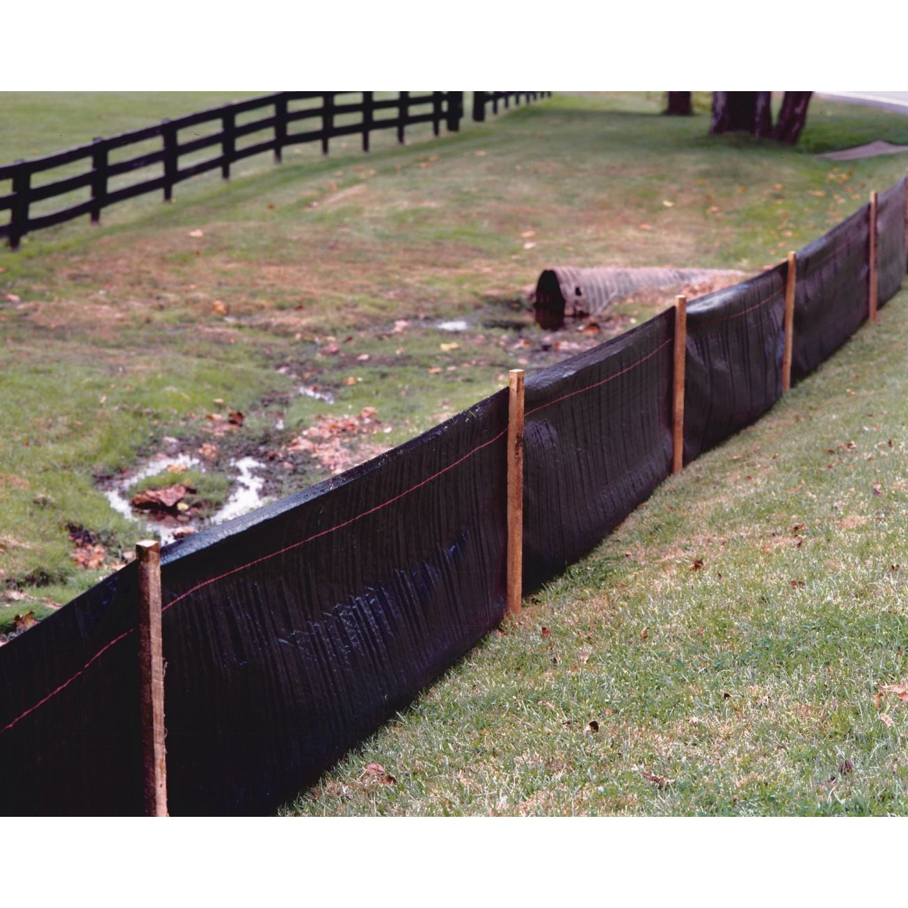 Tenax 2in X 100ft Silt Fence 31900500 Plastic Fence Erosion Control Silt Erosion