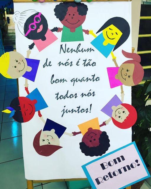 Painel Bem Vindo Volta As Aulas Em 2020 Aulas Lembranca
