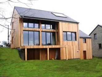 Une Belle Maison Passive Shape Simple Et Efficace Belle Et Bonne
