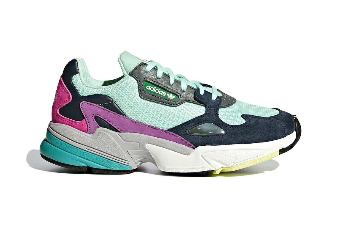 adidas's Falcon Gets a Cozy Multicolor Scheme | Sneakers ...