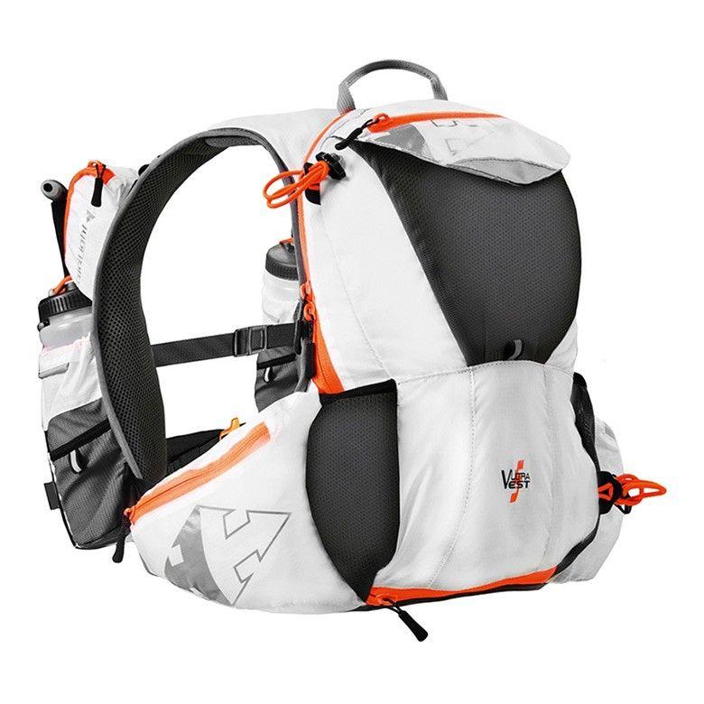 Mochila Raidlight Ultra Vest Olmo 5l Blanco Naranja Sin Bidones