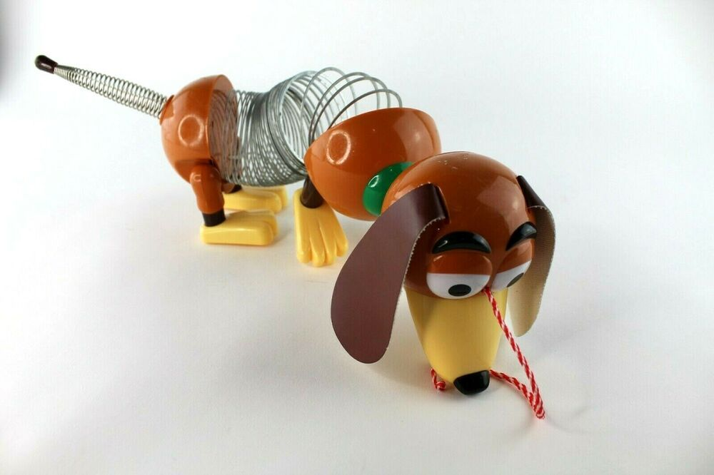 Details About Disney Pixar Toy Story 2 Slinky Dog Pull Toy In