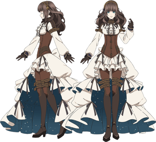 File:Cardia frontside.png | Anime outfits, Fantasy clothing