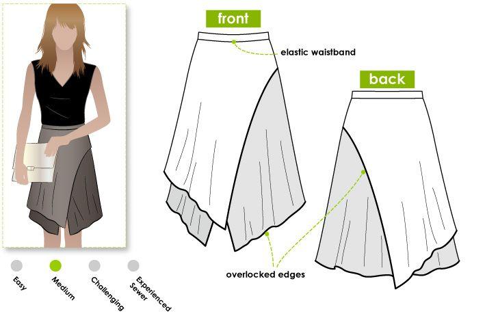 Clara Knit Skirt   Falda, Cosas para hacer y Costura