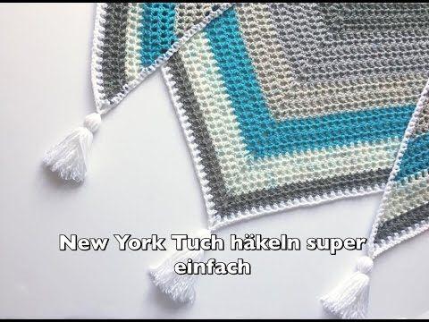 Super Einfaches Tuch Hakeln X2f New York Tuch Hakeln Super Fur