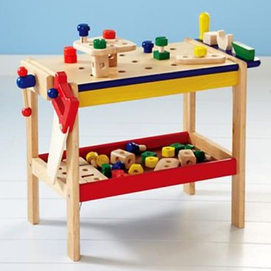 Land Of Nod If I Had A Hammer And A Workbench 99 Kids Activity Table Imaginary Play Messy Kids