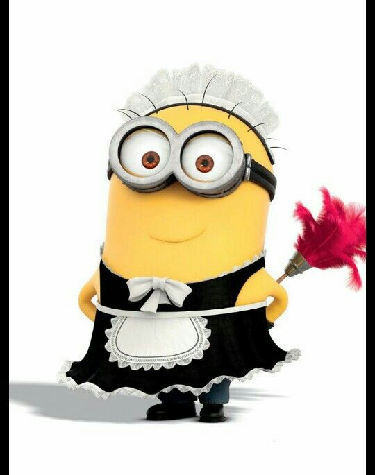 Minion Cleaning Lady Minion Quotes Amp Pictures Pinterest