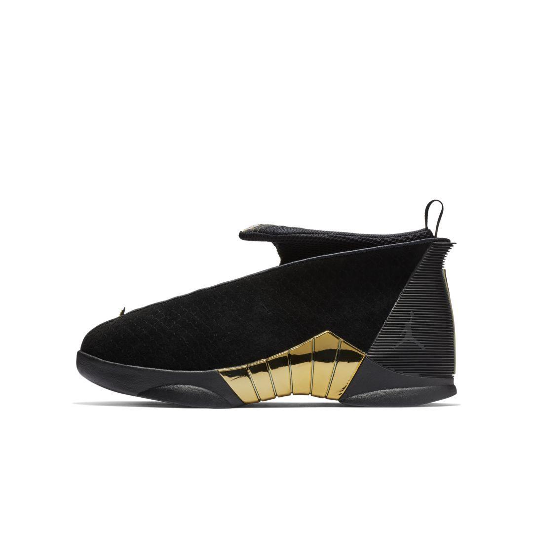 c6c0f498681 Air Jordan 15 Retro (Doernbecher Freestyle) Big Kids' Shoe Size 4.5Y (Black)