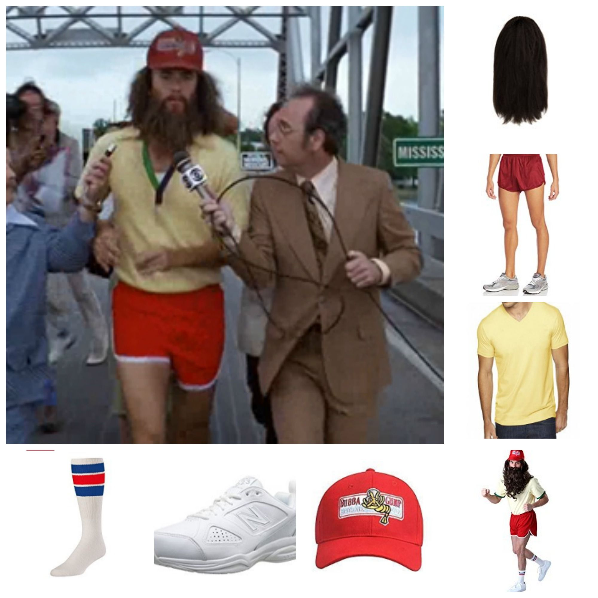 Forrest Gump Halloween Costume for Guys with Beards | Bearded ...