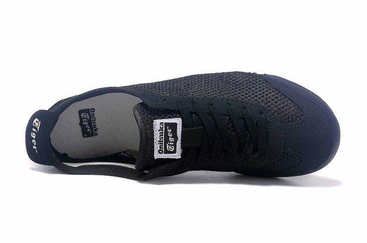half off 4a400 b0362 Onitsuka Tiger Mexico 66 D508N Black White shoes ...