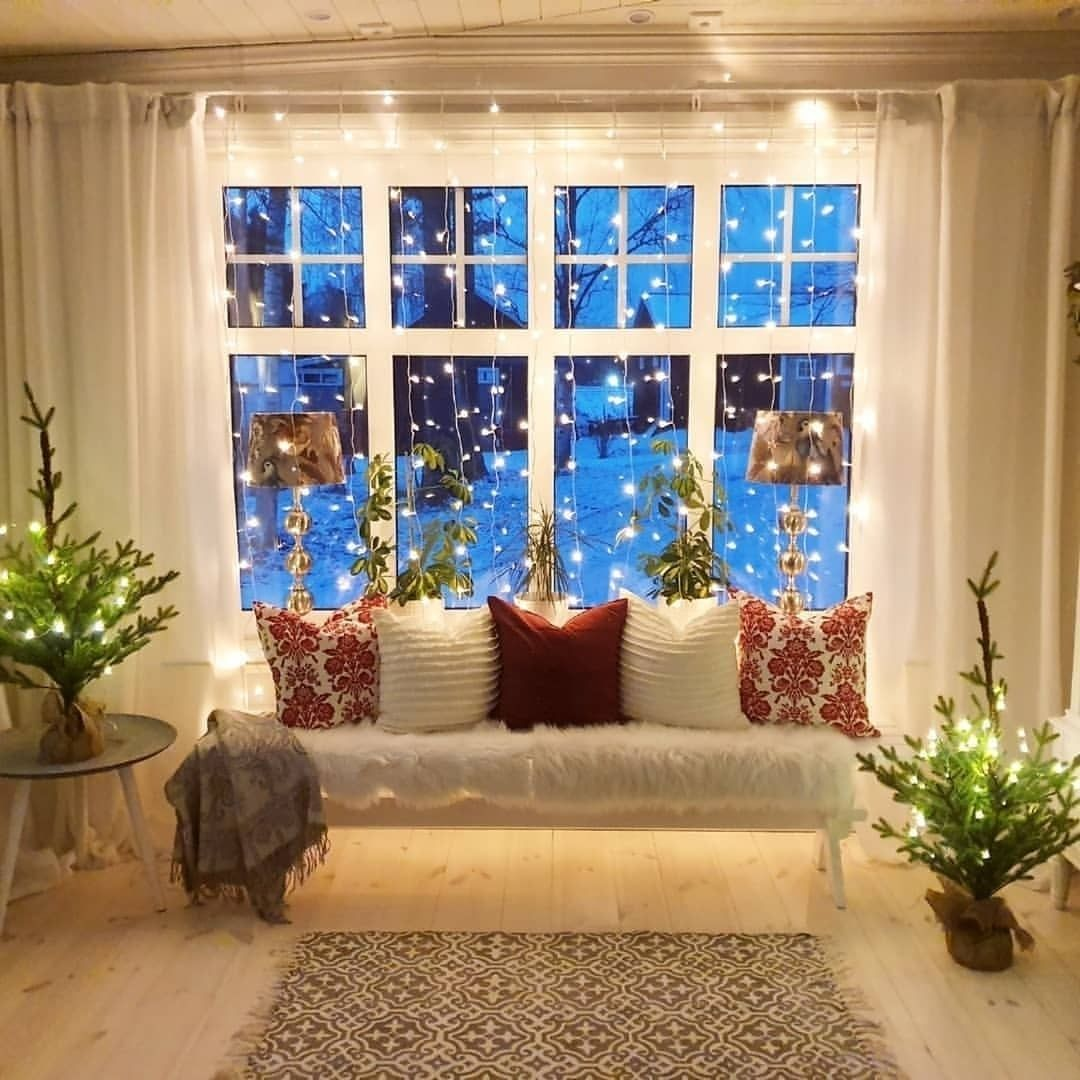 """Christmas View Decoration 2020 Farmhouse Design on Instagram: """"The perfect Christmas view, so"""