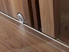 Wolterinck | Bod'or collectie | Wolterinck Laren sistema corredizo al piso para puerta de madera