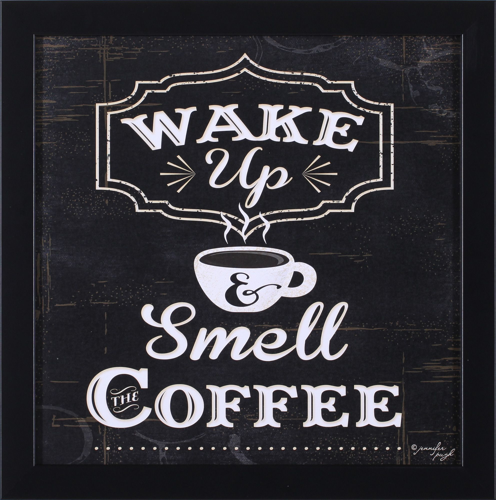 Art Effects Wake Up and Smell The Coffee by Jennifer Pugh