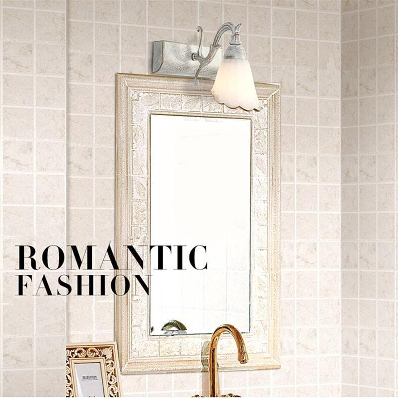 Pin On Bathroom Mirror Light Brown