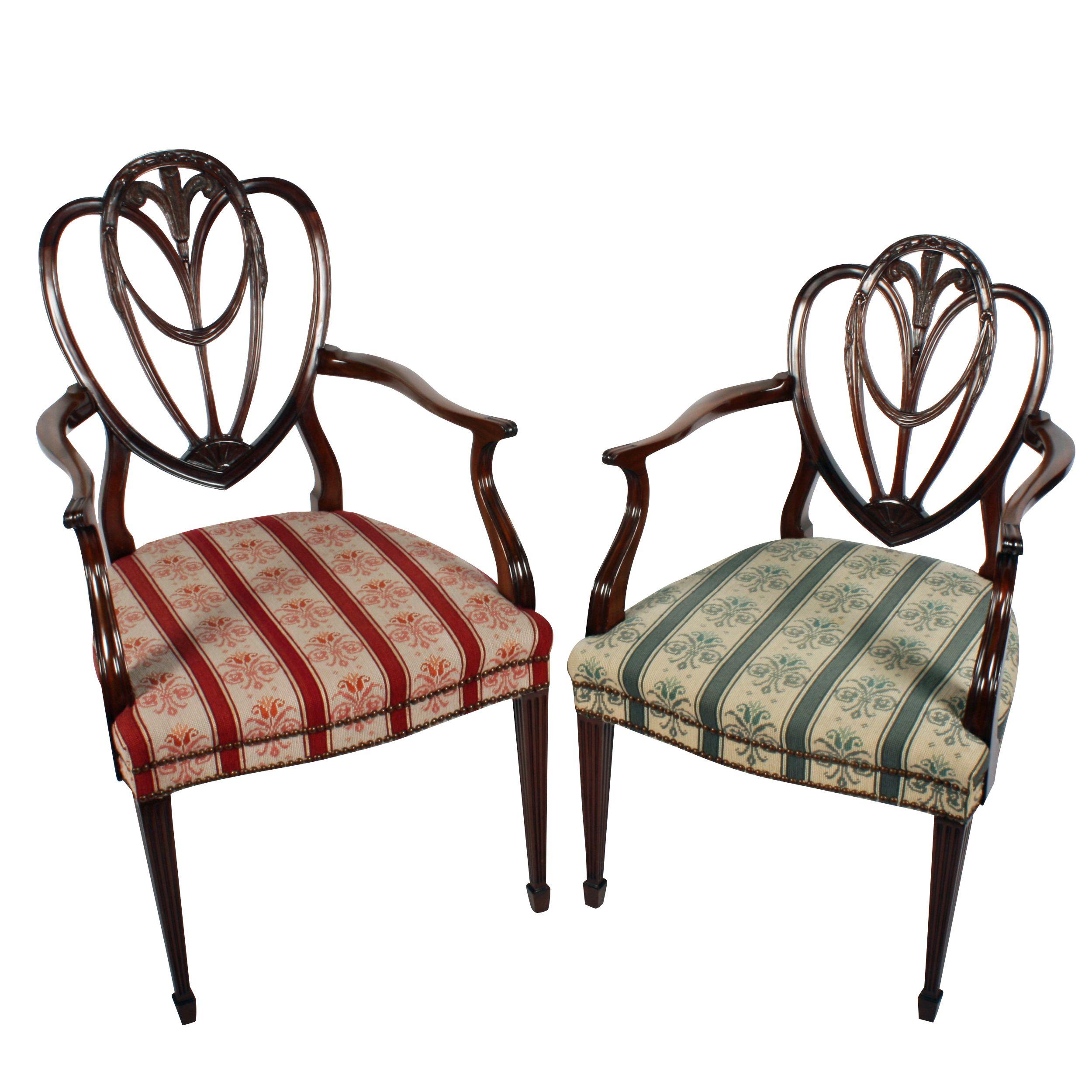 Hepplewhite Gents u0026 Ladies Arm chairs  sc 1 st  Pinterest & Hepplewhite Gents u0026 Ladies Arm chairs | Antique Bedroom furniture ...