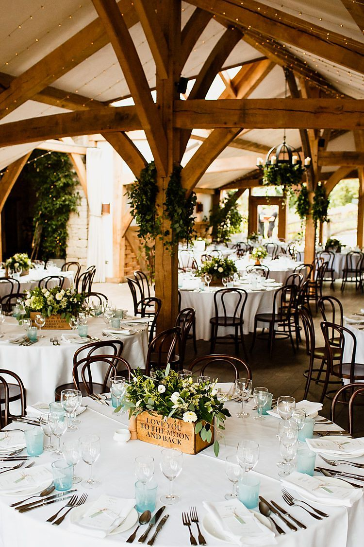 Cripps Chic Country Cotswolds Barn Wedding http