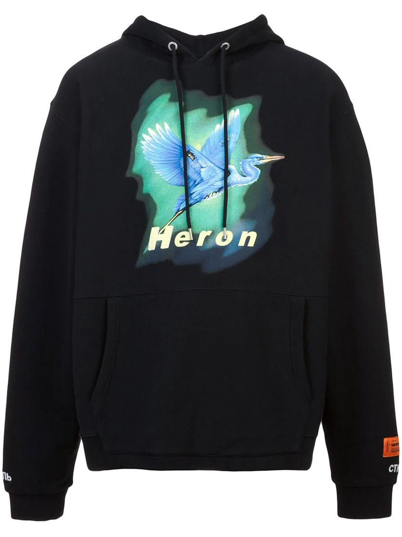 2c05414c HERON PRESTON 苍鹭印花连帽衫. #heronpreston #cloth | Heron Preston ...