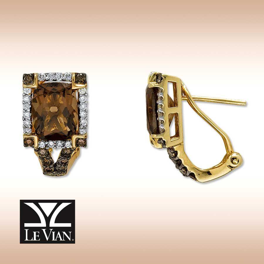 chocolate diamond earrings | Jewels 1 | Pinterest | Diamond