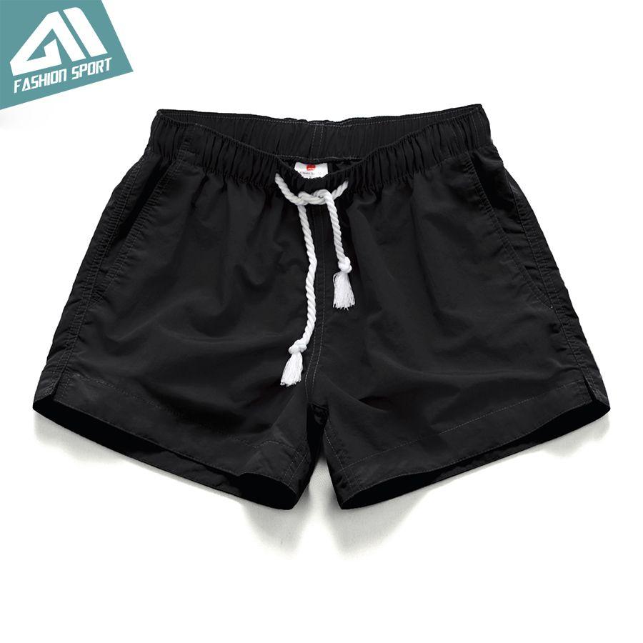 GaiL Mens Quick Dry Swim Running Gym Shorts in Mid Length