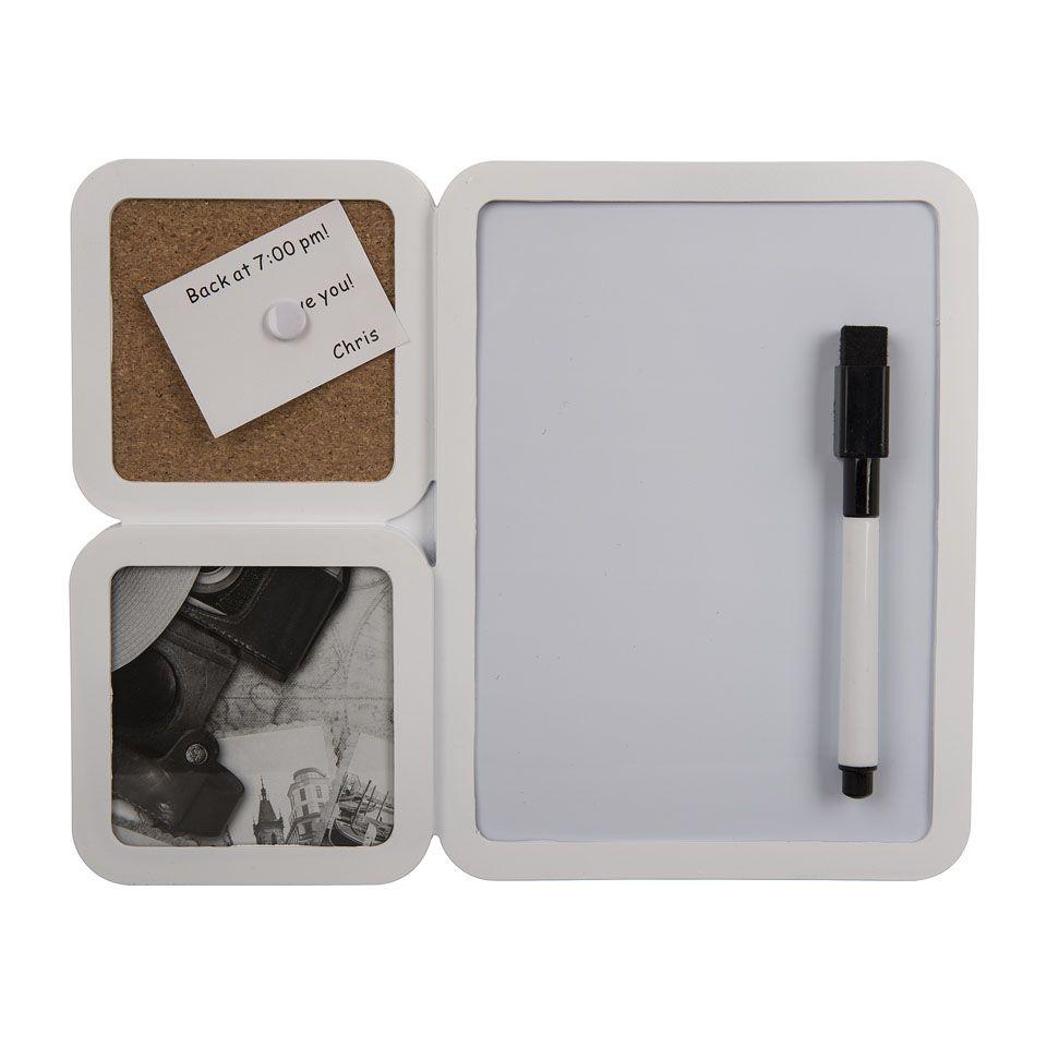 Memobord met prikbord en fotolijstje | Xenos | Home | Pinterest | Met
