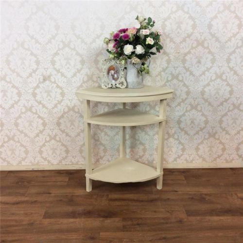 Corner Console Table shabby-chic-cabinet-display-corner-console-table-kitchen-dining