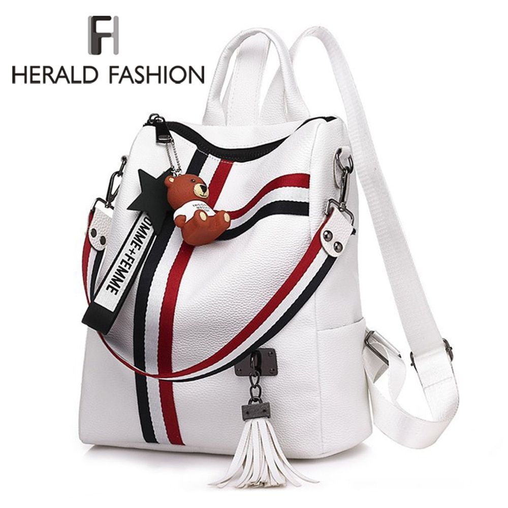 #2020 #new #women #bags #retro #fashion #zipper #ladies #backpack #pu #leather #high #quality #school #bag #shoulder #for #youth #backpacks