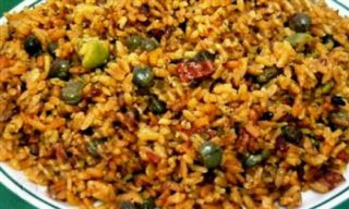 Arroz con gandules i am puerto rican pinterest for Authentic puerto rican cuisine
