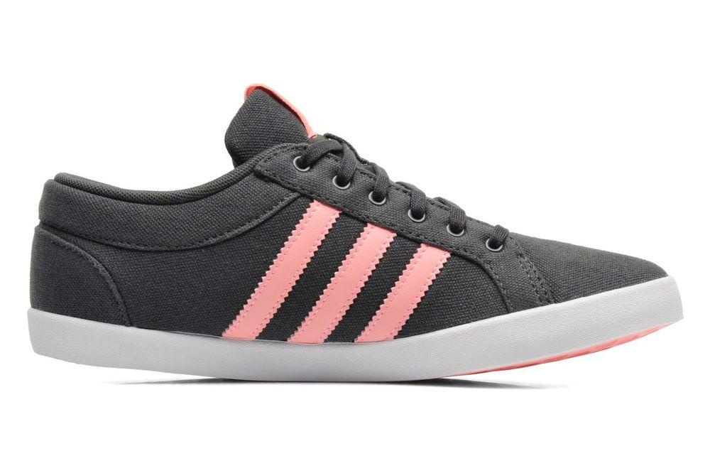 Adidas Adria PS 3S W Damen Lifestyleschuh - M19526 Gr.40 2/3 grey