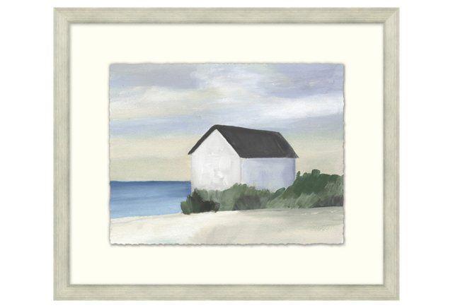 """Coastal Cottage IV, 26"""" x 22"""""""
