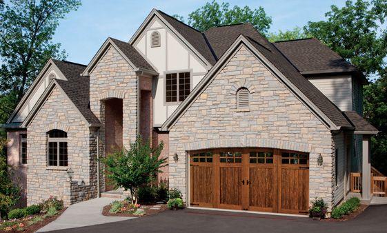 Clopay Doors Residential Garage Doors And Entry Doors Commercial Doors Canyon Ridge Faux