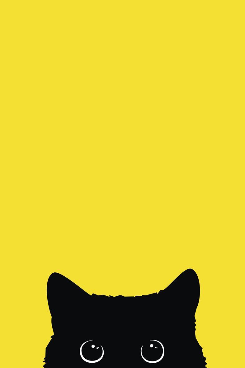 Black Cat Wallpaper Cat Wallpaper Goth Wallpaper Black Cat