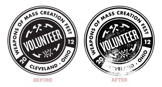 Photoshop Stamp Effect | Design | Badges | Photoshop actions