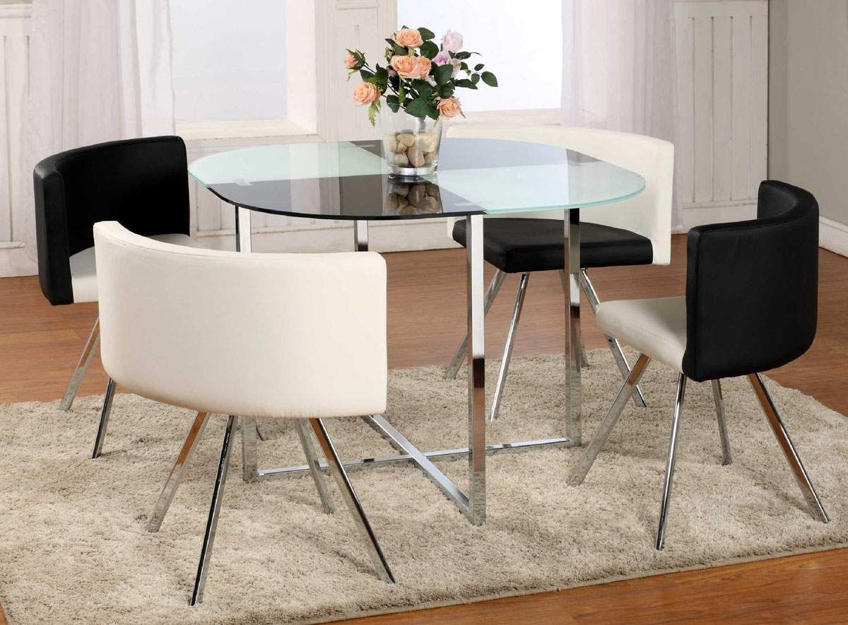 Modern Round Glass Dining Table Set In 2020 Dining Room