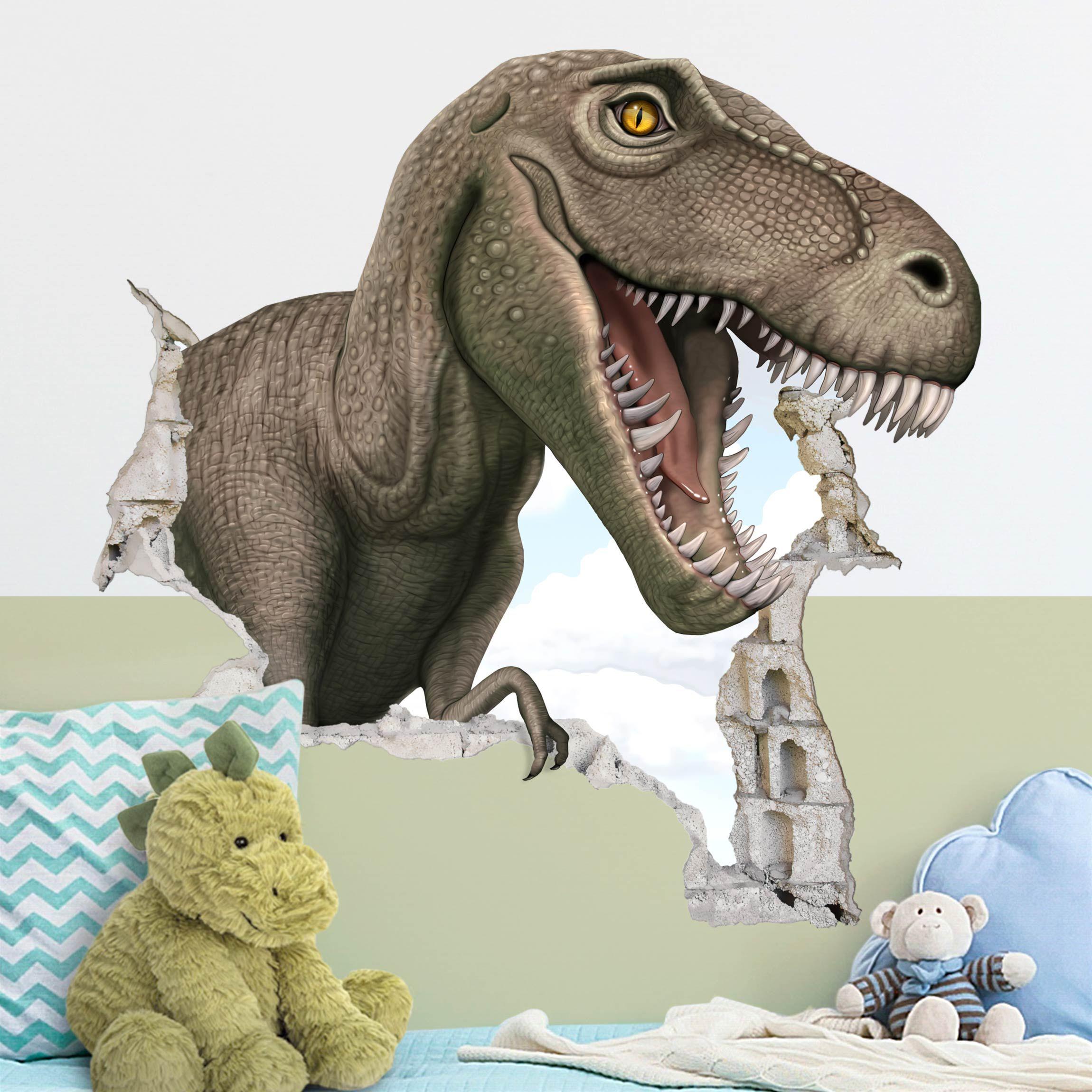 wandtattoo  dinosaurier t  rex in 2020  dinosaurier