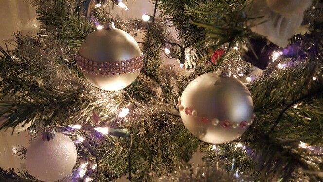 Kerstballen pimpen