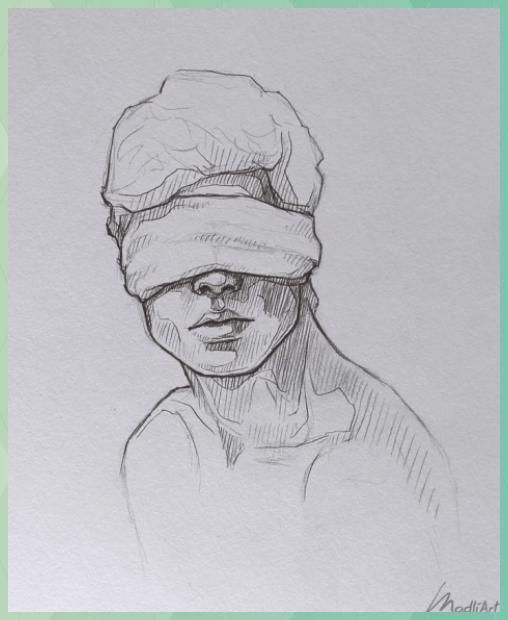 My Sketchbook Genre I Dreamy Blindfolded Drawing Guy I Cute Sketsch I Sketchy Genre I #blindfolded #drawing #dreamy #genre #sketchbook #sketchy #sketsch