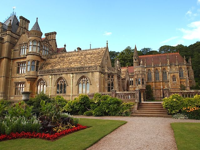 Tyntesfield - Looking Towards the East Front and Chapel