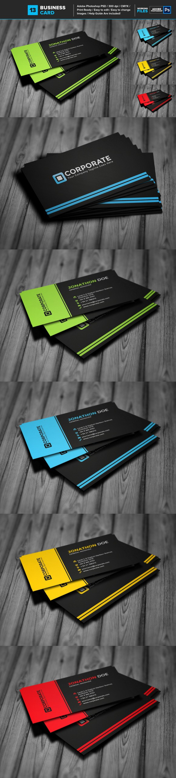 Professional business card 13 business cards card templates and professional business card 13 colourmoves