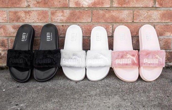 puma by rihanna fenty slippers