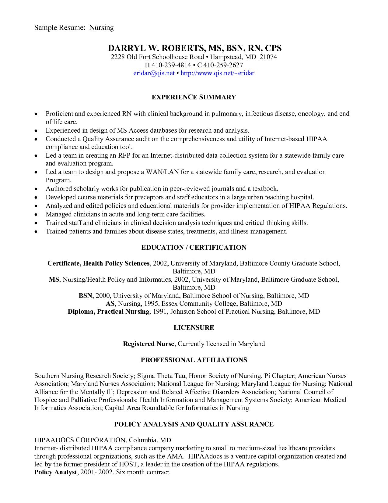 resume sample new grads cachedapr list build grad student nurse ...