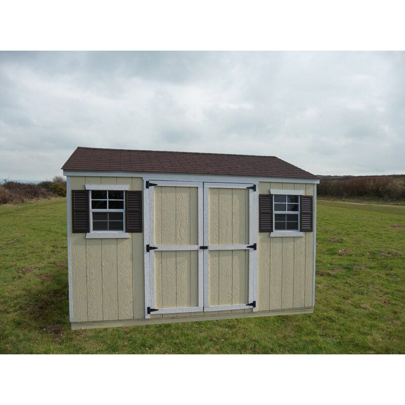 Value Workshop Precut Kit Solid Wood Storage Shed Wood Shed Farmhouse Sheds Shed
