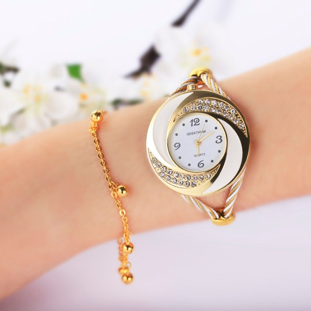 Rhinestone whirlwind watch cool cute fashion beauty watches