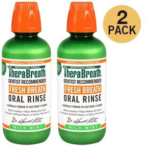 Price 14 80 Therabreath Dentist Recommended Fresh Breath Oral