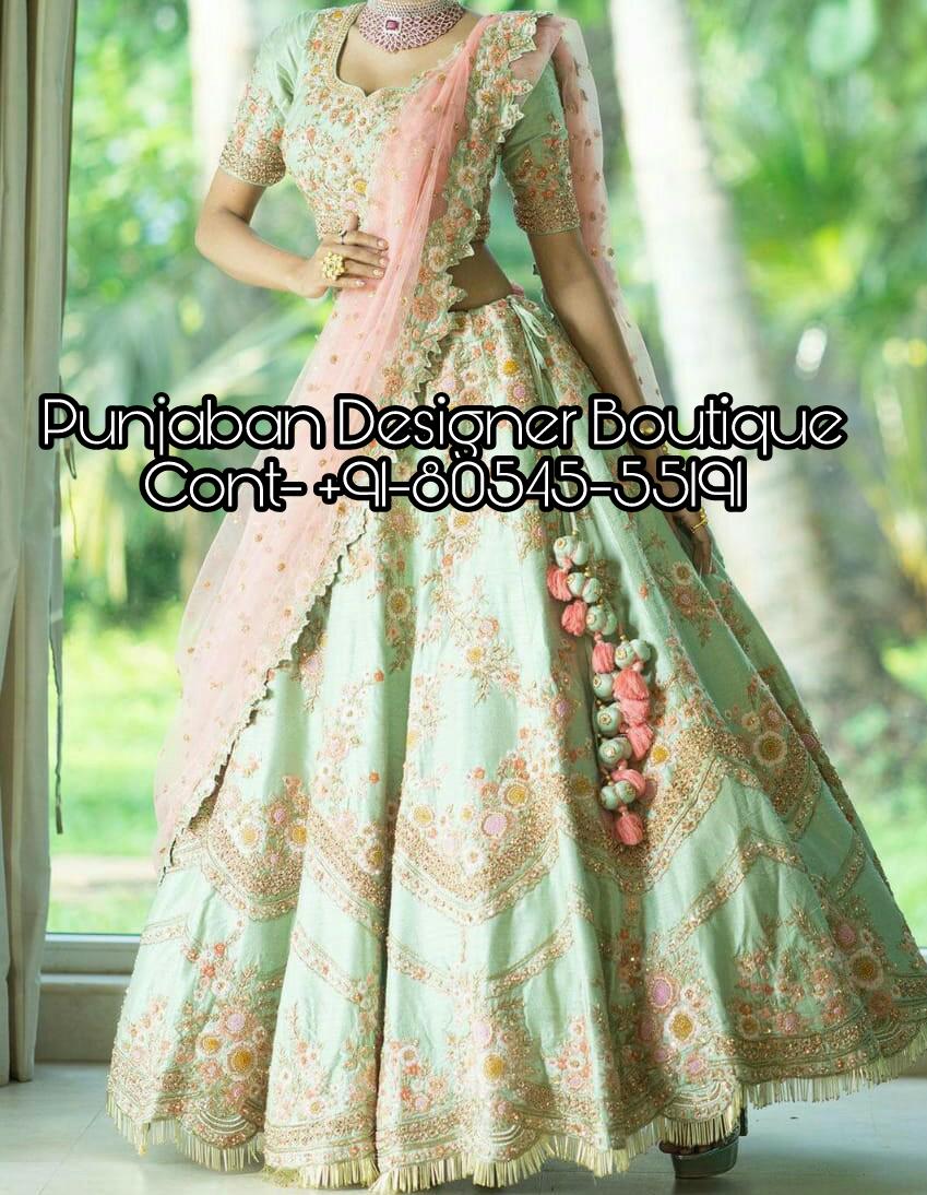 39ea1e92c Shop for Lehenga Choli online sale at attractive prices on Punjaban Designer  Boutique . Wide